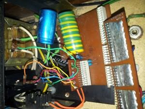 Gretz je nevarno blizu kondenzatorja