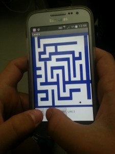 The final level of the Maze - almost impossible to complete. Almost = 1 hour of trying