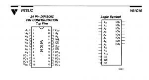 v61c16 datasheet