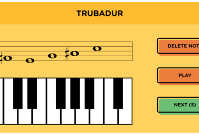 Troubadour intervals application
